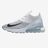 Nike Air Max 270 Flyknit White Platinum Shoes