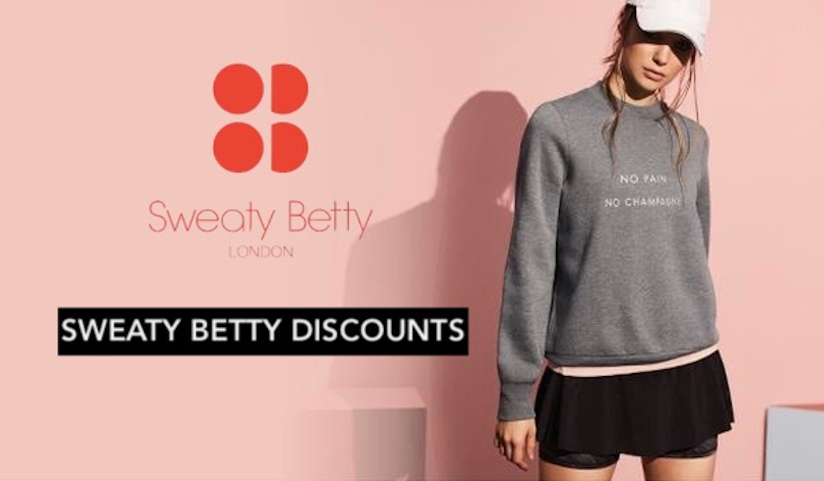 Sweaty Betty Discounts - Free Tips On How To Save At Sweaty Betty Banner