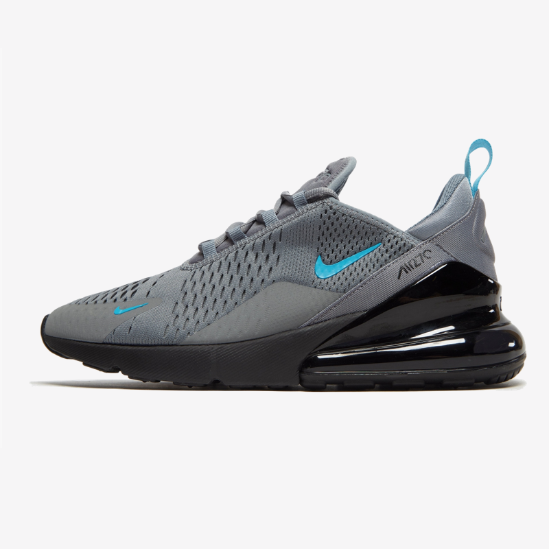 Nike Air Max 270 Grey Black Blue Mens Shoes Sport Stylist