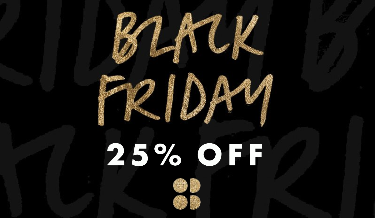 25% Off Everything at Sweaty Betty Black Friday Banner